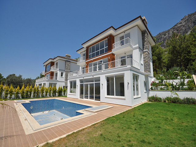 Stunning Luxury Properties with Fabulous Views in Modern Gocek Fethiye