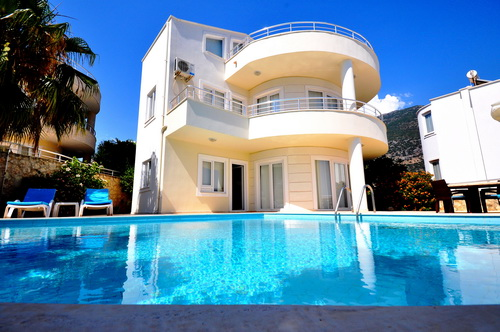 Detached 3 Bedroom Villa with self- contained Flat in Kalkan For Sale