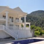 Uzumlu villa modern property Fethiye Turkey mountain view villa pool and garden