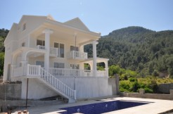 Uzumlu villa modern property Fethiye Turkey mountain view villa pool and garden