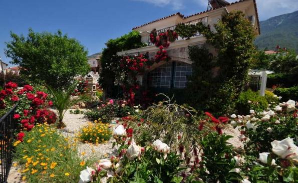 green villa in ovacık,big garden and pool,oludeniz villas