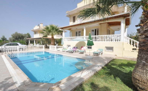 Fabulous 6 Bedroom Furnished Villa with Pool in Ovacik Fethiye