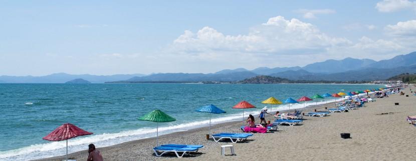 Fethiye Calis Beach Turkey