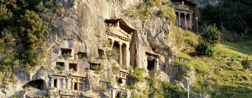 Fethiye+Lycian+Rock+Tombs+Turkey