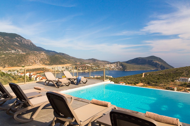 Kalkan Contemporary Luxury Villas with Stunning Views