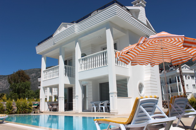Brand New Superb Villa With Private Pool in Ovacik