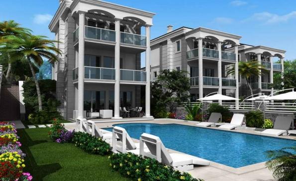 superb villas,fantastic design in ovacik fethiye