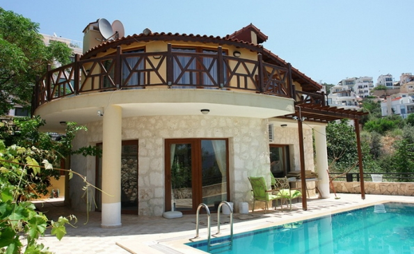 Superb 3 Bedroom Villa with Annex and Pool in Kalkan
