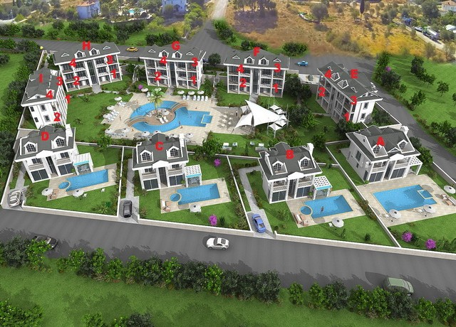 beyaz homes apartments in Fethiye (9)