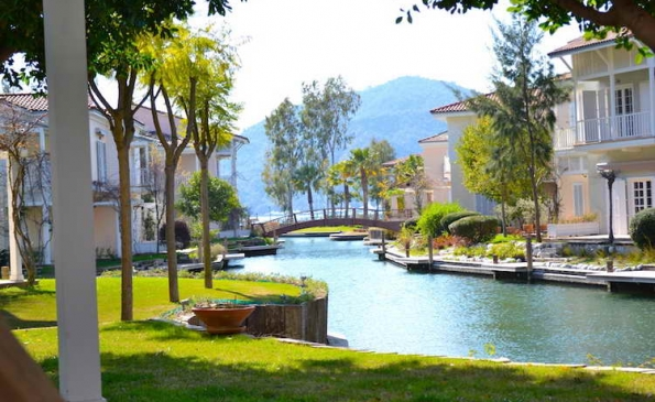 Fabulous Marina Villa in Gocek For Sale