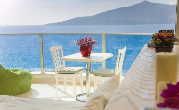 Adorable Seafront Villa in Kalkan Antalya with Infinity Pool