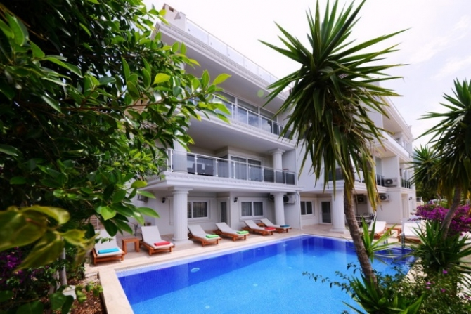 Luxury Apartment in Kalkan Antalya With Sea View For Sale