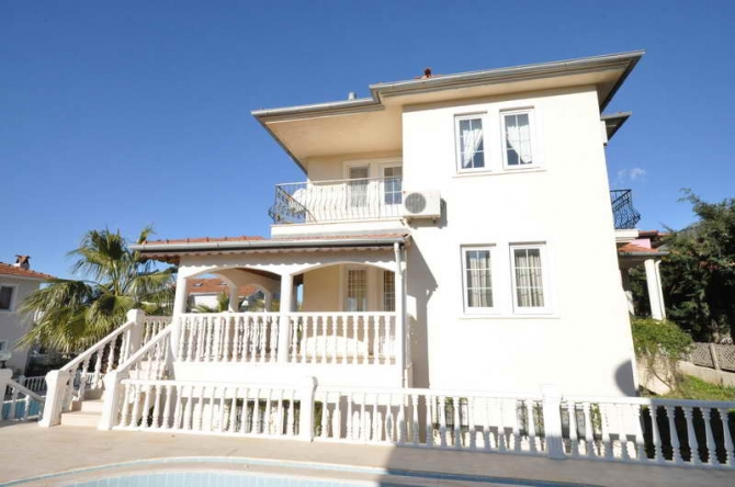 Beautifull 3 Storey Fully Furnished Villa at a Great Price in Ovacik Fethiye