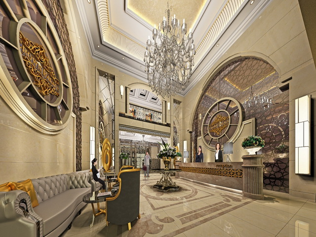 Завершенные резиденции в стиле отеля в стамбуле