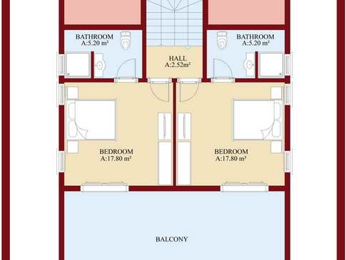 beyaz homes property in turkey floor plans (1)