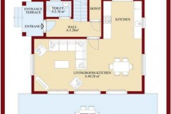 beyaz homes property in turkey floor plans (2)