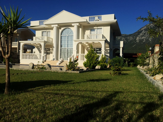 Off-Plan White House in Uzumlu For Sale