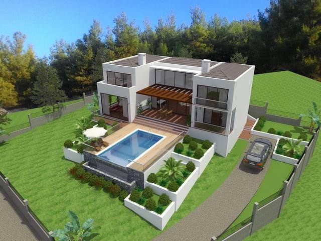 Superb Off-Plan Villa For Sale in Fethiye