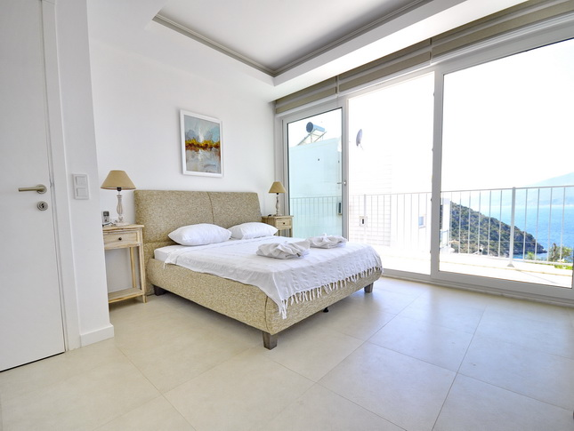 Modern Triplex Villa In Kalkan With Sea View For Sale