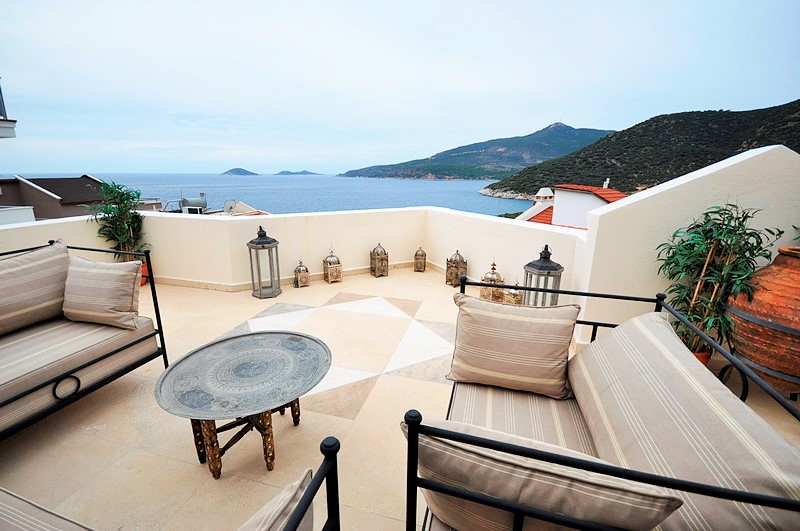 High Quality Family Villa With Sea Views For Sale In Kalkan
