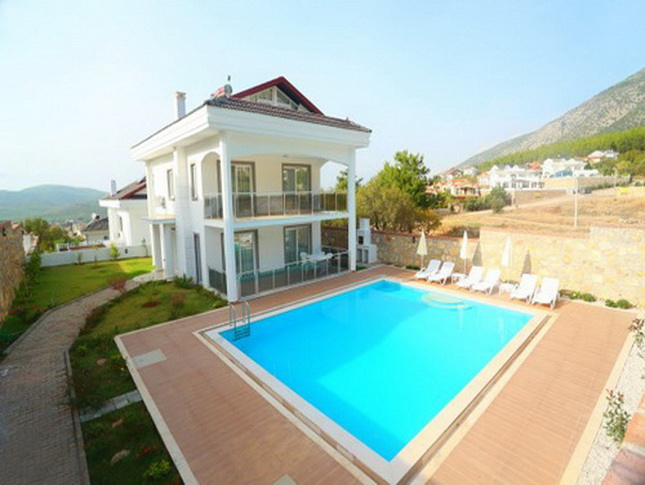 Brand New 3 Bedroom Villa with Mountain Views in Ovacik