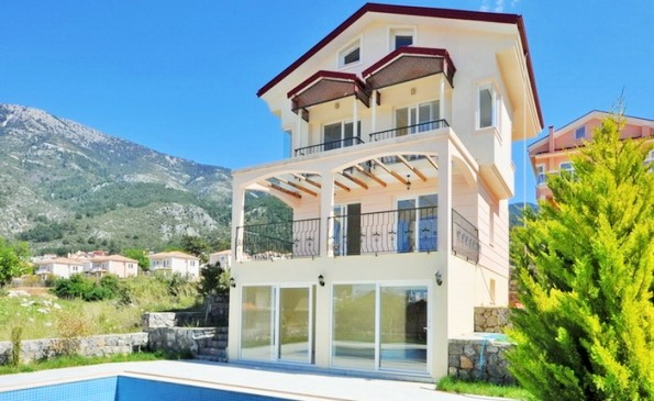 New 4 Bedroom Villa with private swimming pool in Ovacik Fethiye