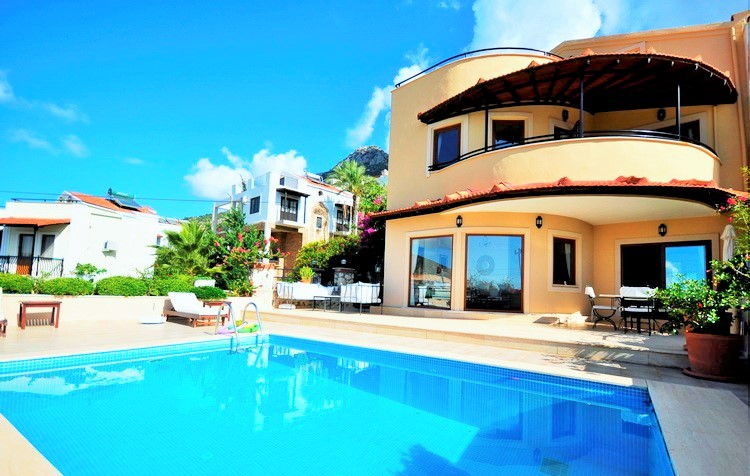 Twin Villa in Kalkan For Sale With Fantastic Price