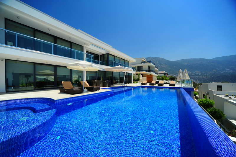 Superb Fully Furnished Villa in Kalkan With Sea View For Sale