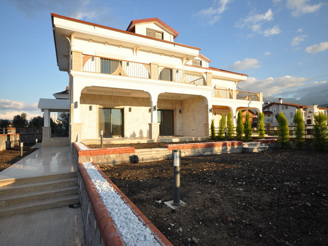 5 Bedroom Brand New House with Sea View  in Akarca, Fethiye