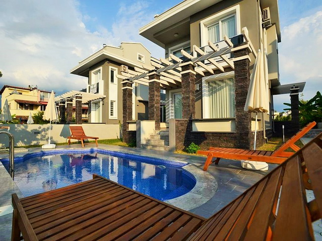 Luxury Villas in Calis Fethiye For Sale 3 Bedrooms