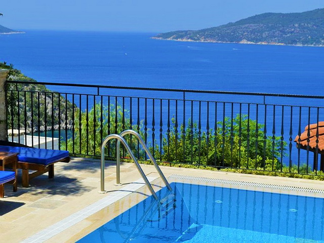 Sea View Villa in Kisla Kalkan For Sale