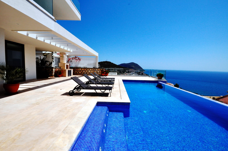 Fantastic Panoramic Villas in Kalkan For Sale