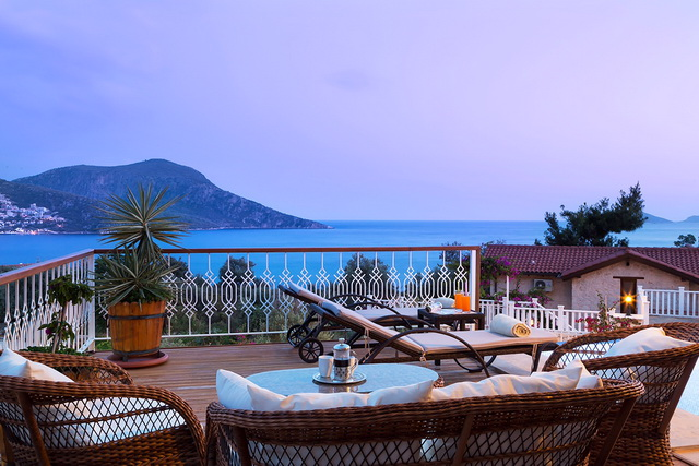 Ultra Luxurious Villa Fully Furnished in Kalkan With Panoramic Views