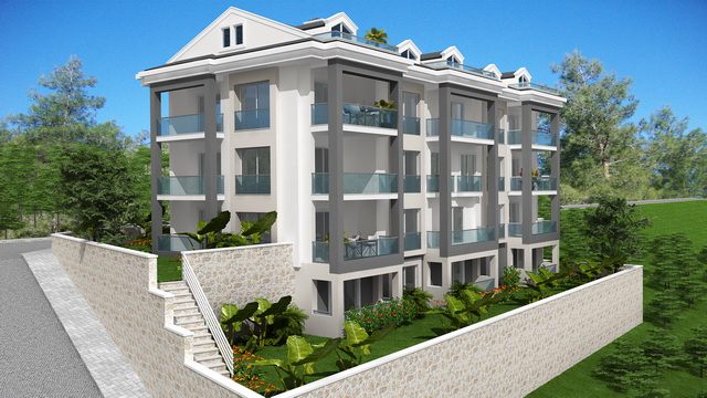 Luxury Apartments in Tasyaka Fethiye
