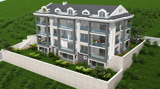Luxury Apartments in Tasyaka Fethiye For Sale