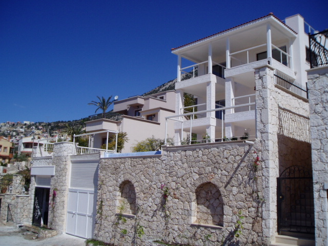 Spacious Kalkan Villa With Large Pool And Sea View For Sale