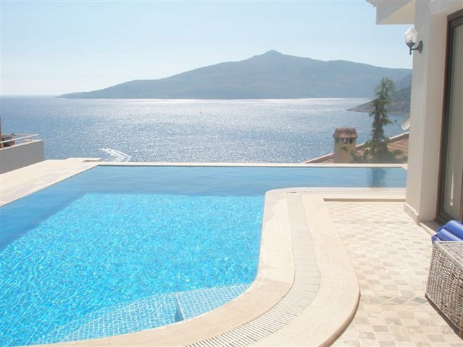 Amazing Seafront Villa in Kalkan With Panoramic Views For Sale