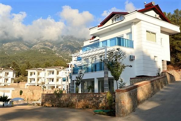 Brand New Apartment Complex in Ovacik