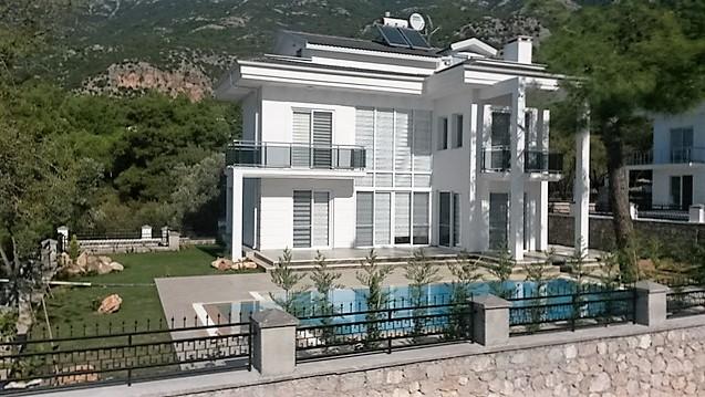 Brand New Villa with Large Garden in Ovacik