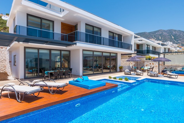 Luxurious Villa in Beautiful Kalkan For Sale