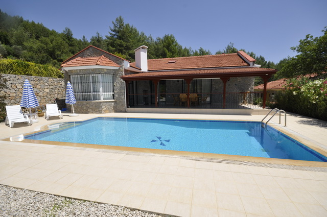 SOLD!!! Stone Bungalow in Uzumlu with a Large Garden