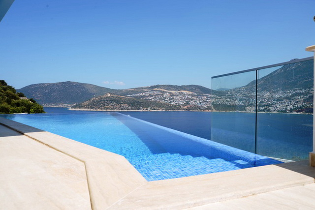 Villa with Amazing Kalkan Bay Views For Sale