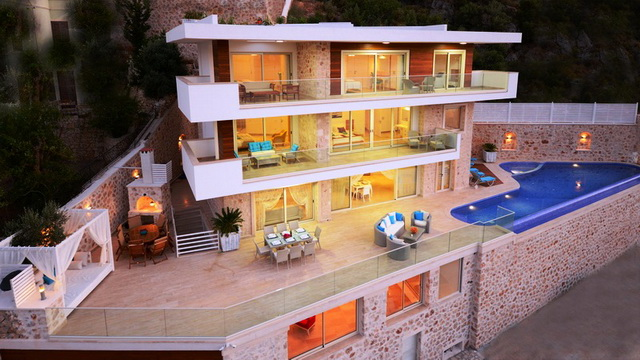 Ultra Luxurious Villa In Kalkan For Sale