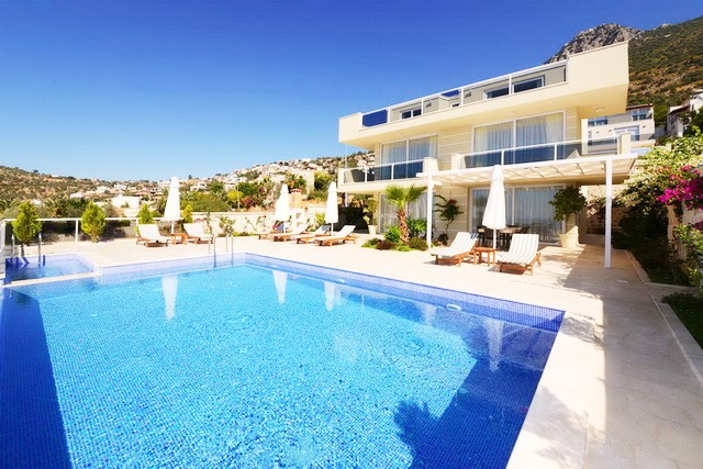 Beautiful Large Villas with Great Views of Kalkan For Sale