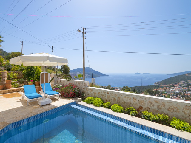 Modern Fully Furnished Villa in Kalkan For Sale