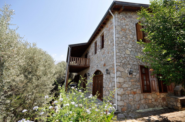 Turkish Traditional Villa in Faralya on a Large Plot For Sale