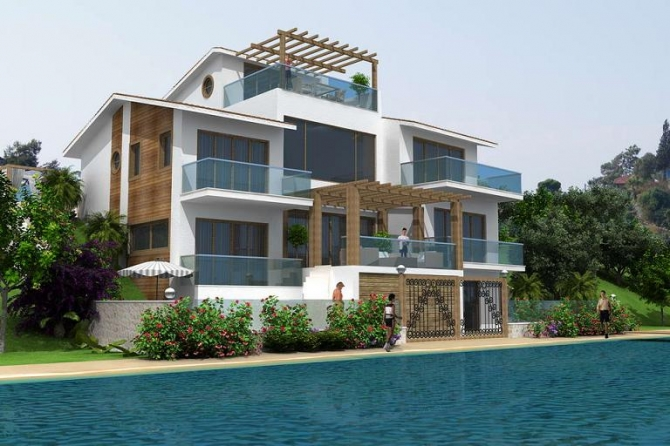 Villa For Sale on Sovalye Island Fethiye