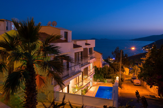 Brand New Apartments with Sea View in Kalkan Town Centre