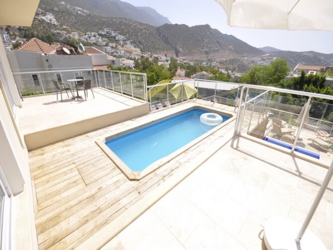 Modern Apartment With Private Swimming Pool in Kalkan