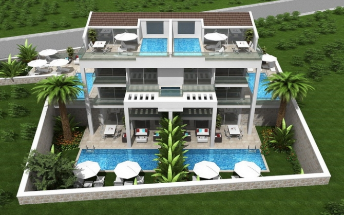 Brand New 2 and 3 Bedroom Apartments Each with Private Swimming Pool